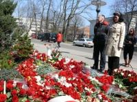 у польского консульства в Калининграде