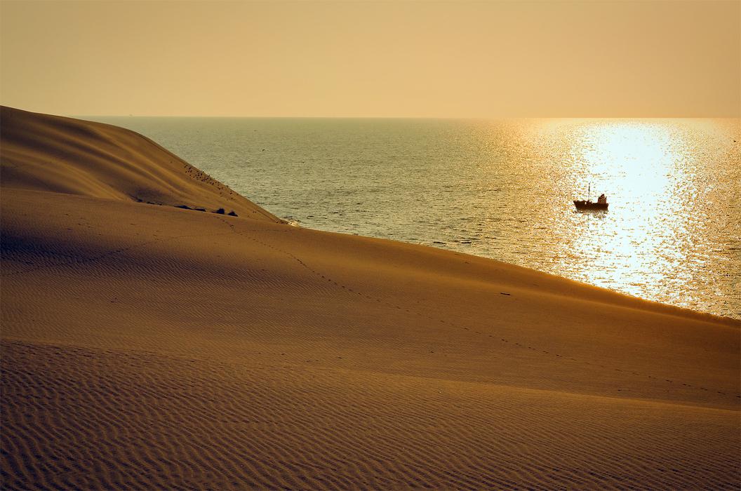 утро в дюнах