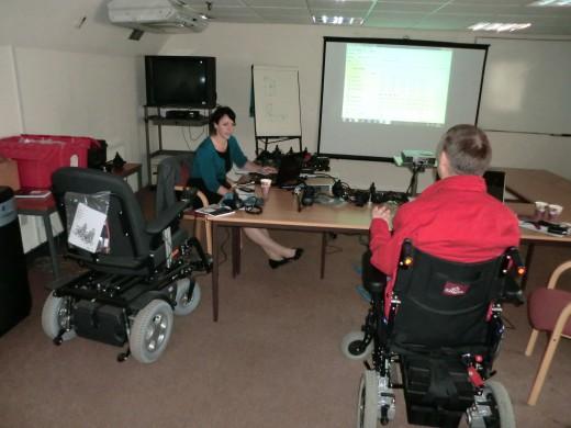 альтернативное управление инвалидной коляской